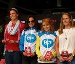 Christine Fletcher and Gillian Moody in the top five women's at ironman Canada 2013