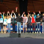 Christine Fletcher, Gillian Moody and Andrew Russell in the top five at Ironman Canada 2013