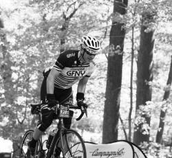 Phil Canavan riding in the Gran Fondo New York