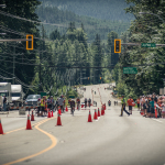 Street view of Ironman Canada 2014