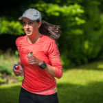 Louise Berekely training camp for Ironman Canada