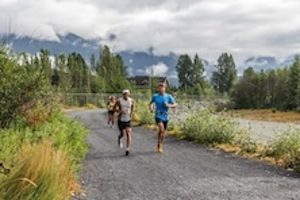 Running in Whistler BC 2013