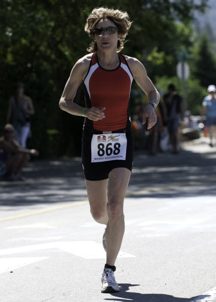 Wendy Richardson running