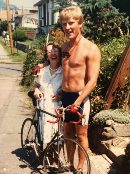 john christensen circa 1984 with late mom