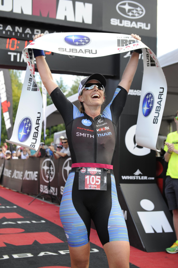 Steph Corker Ironman Champion